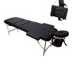 Massage Table Carrying Case Portable Lightweight Aluminum Massage Table Adjustable