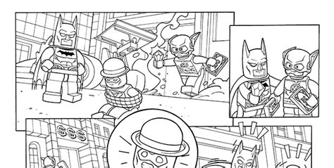 lego dc comics coloring pages