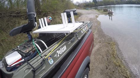 pelican boat modifications pelican bass raider modifications tested youtube