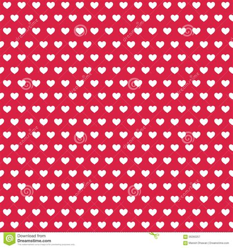 White Heart Pattern | red and white heart background www pixshark com images