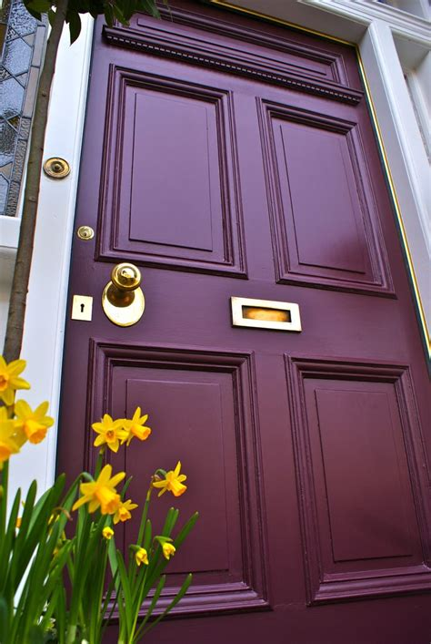 Louise Clelland Uk Colour Brinjal Finish Exterior Front Door Colours Farrow And