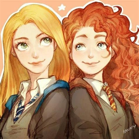 Lovegood And Hermione Granger by Lovegood And Hermione Granger From The Harry Potter