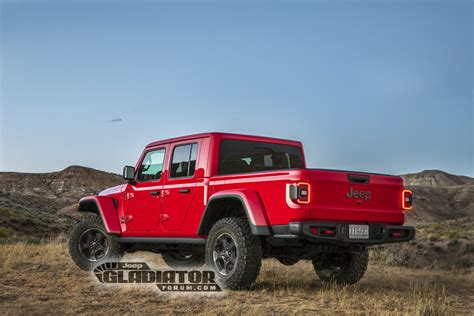 New Jeep Truck 2020 by 2020 Jeep Gladiator Truck Rendered As 6x6