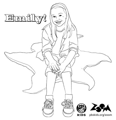 zoom coloring page zoom printables emily s coloring page pbs kids
