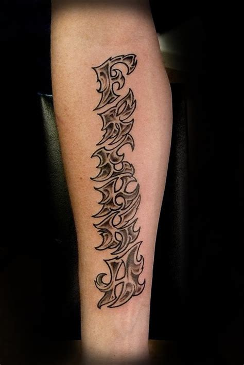 tribal tattoo lettering tattoos ideas design a tattoos designs