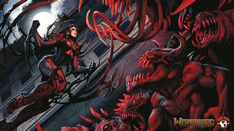 witchblade hd wallpaper background image