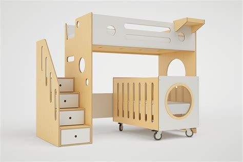 Marino Bunk Bed Over Crib Casa Kids Crib Bunk Bed