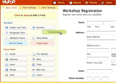 design online application form online application creator online application