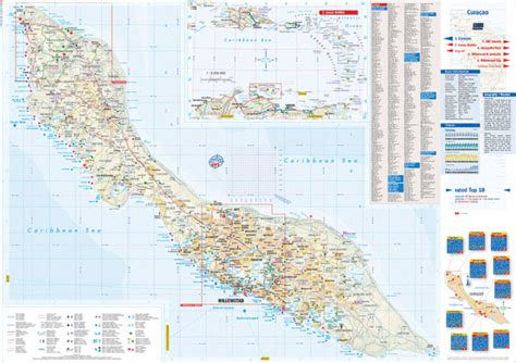 printable curacao road map road map curacao my blog
