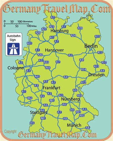 autobahn map germany autobahn map travel オ germany