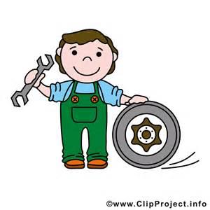 kfz le kfz mechaniker clipart logo gratis