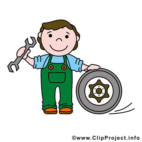 werkstatt piktogramm kfz mechaniker clipart logo gratis
