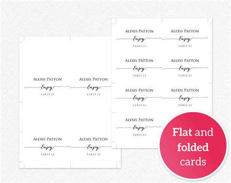 index card design template cross wedding place card templates 183 wedding templates and