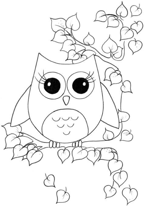 Dibujar Buhos Dibujos Para Pintar Mejor Conjunto De Frases Owl Coloring Pages Print