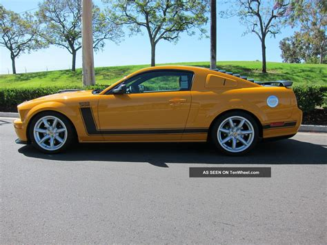 2007 ford mustang specs 2007 ford mustang 302 specs