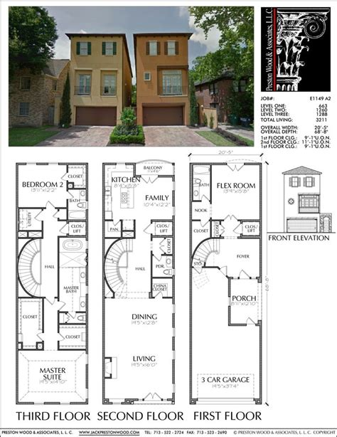urban townhouse floor plans 1000 images about jack prestonwood on pinterest