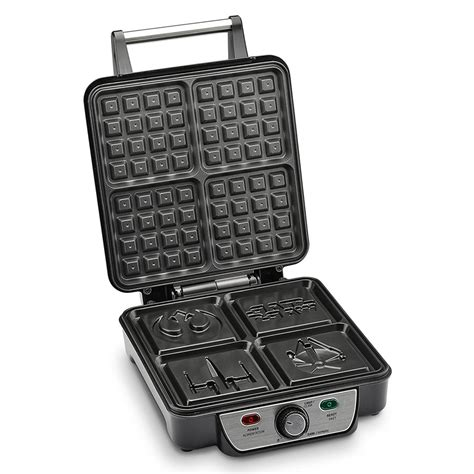 themed waffle maker this waffle maker makes up to 4 star wars themed waffles