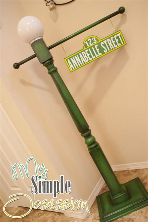 my simple obsession sesame post sign tutorial