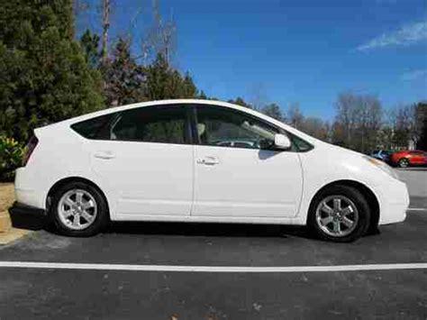 Toyota 2004 Mpg Buy Used 2004 Toyota Prius White Hatchback 4 Door 1 5l