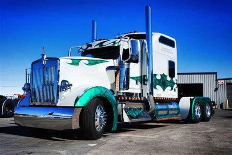 big kenworth trucks a big kenny with a unique custom paint job mmmmmmm