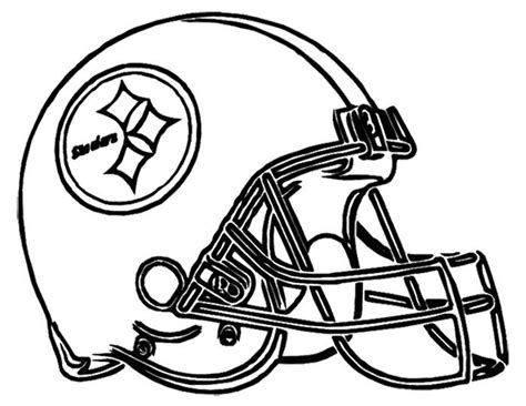 indianapolis colts helmet coloring page football helmet steelers pittsburgh coloring page nfl