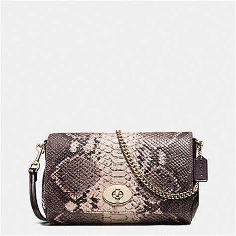 Tas Coach Original Coach Kelsey Small Studded Border Black M coach f35916 mini ruby crossbody in python embossed leather light gold grey multi coach