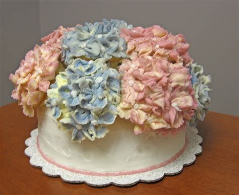hydrangea cake hydrangea birthday cake cakecentral com