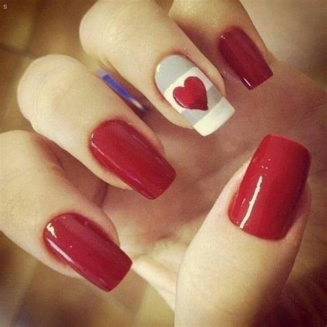 easy valentines nails easy nails for s day nail designs colors