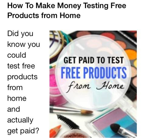 Make Money Online Testing Products - musely