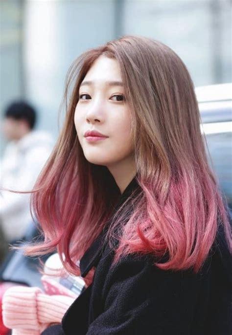 popular hair colour for korean korean girl hair color best hair color 2017