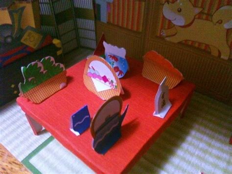 How To Make A Diorama Out Of Paper - japanese paper house diorama 183 a dolls house 183 decorating
