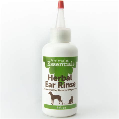 wholetones for dogs animal essentials herbal ear rinse well of center store