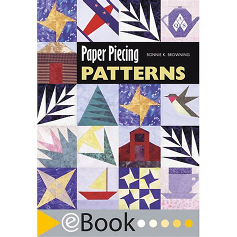 pattern paper book american quilter s society ebook paper piecing patterns