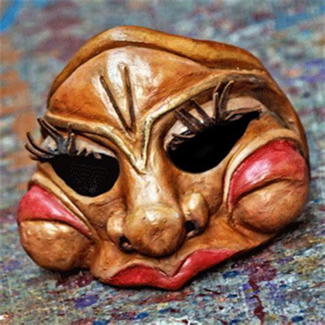 Masker Carakter waxing moon masks masks