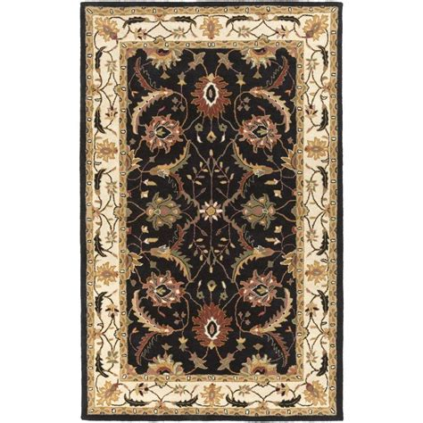artistic rugs artistic weavers ibalum black 8 ft x 11 ft indoor area rug s00151009231 the home depot