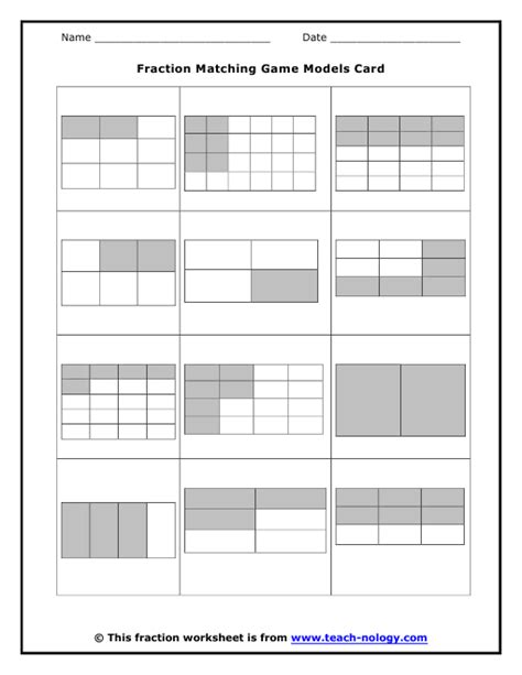 Math Models Worksheets by Modeling Fractions Worksheet Modeling Fractions Sixths A