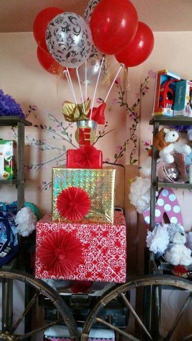 Decoracion de regalo sorpresa Quinceañera! !!!! Hecho por