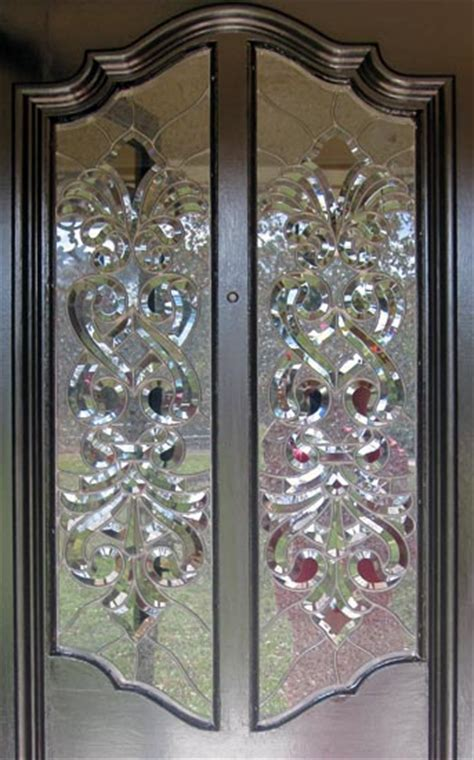 Beveled Glass Door Panels Mccrackenp Leaded Beveled Glass Door Windows Custom Glass Design