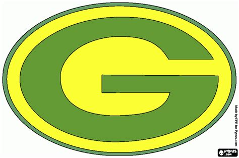 green bay packers printable coloring pages bestofhouse