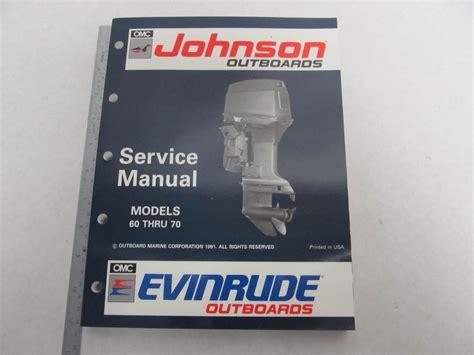 johnson buitenboordmotor handleiding 508144 evinrude johnson outboard service manual quot en quot 60 70