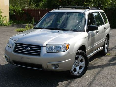2007 subaru forester type buy used 2007 subaru forester x awd 5 speed manual no