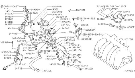 2004 Nissan Frontier Engine Diagram