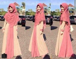 Gamis Gamis Busui Ashanti Katun Denim Spandek gamis soleha busui y827 m model baju muslim syari cantik