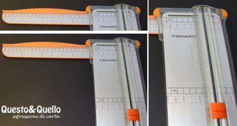 taglierina da tavolo questoequello espressioni di carta taglio della carta