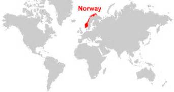World Map Norway by Norway Map And Satellite Image