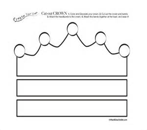template of a crown paper crown template 21 free word pdf documents free