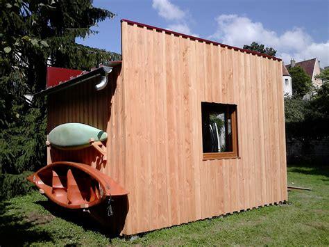 Style Garage Abri De Jardin Contemporain Bois Et Fibres