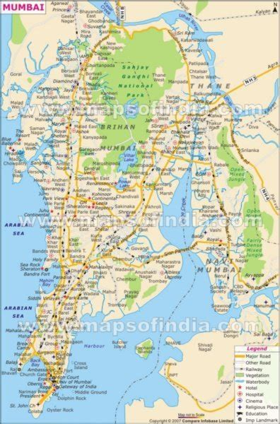 mumbai map photo