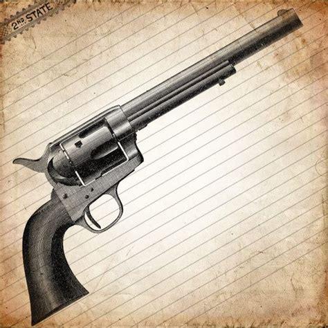 colt 45 vintage revolver gun gunslinger s choice from by