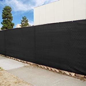 Sichtschutz Stoff Zaun by Fencescreen Brand 50 Black Windscreen Fence